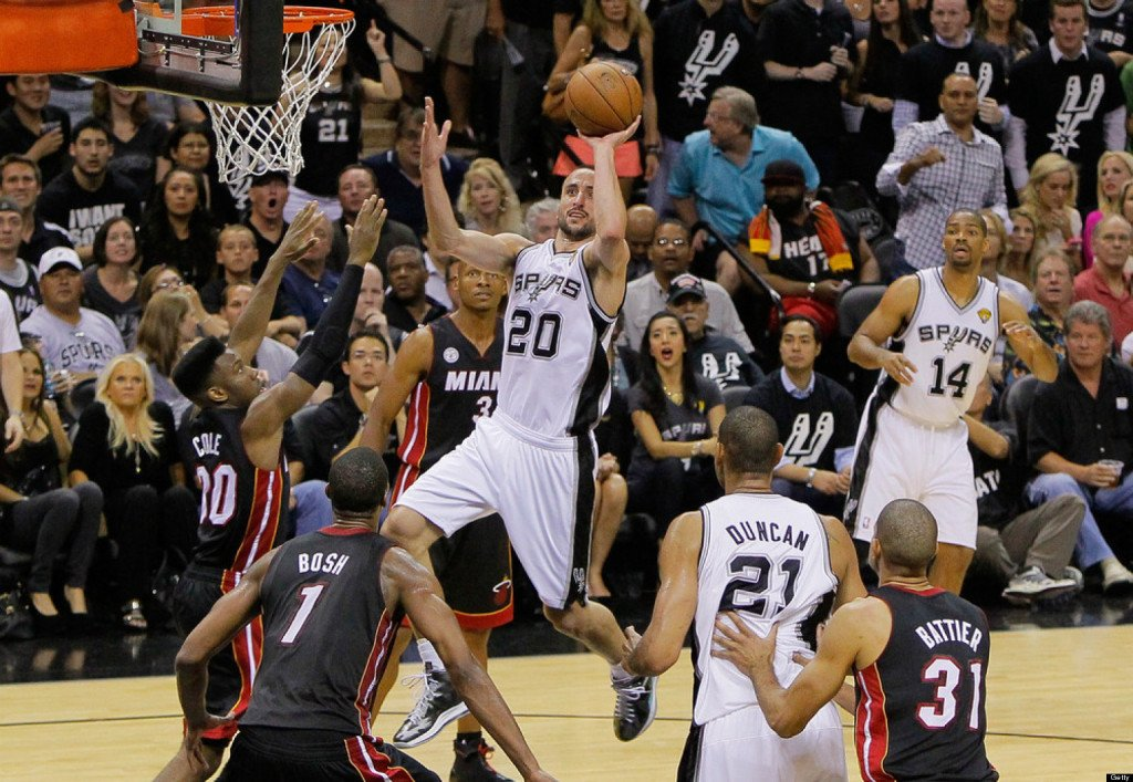 Miami Heat v San Antonio Spurs - Game 5