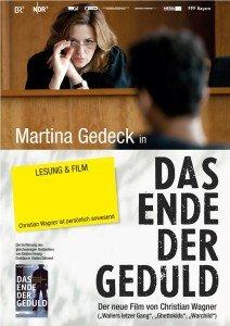 Filmplakat Das Ende der Geduld.indd
