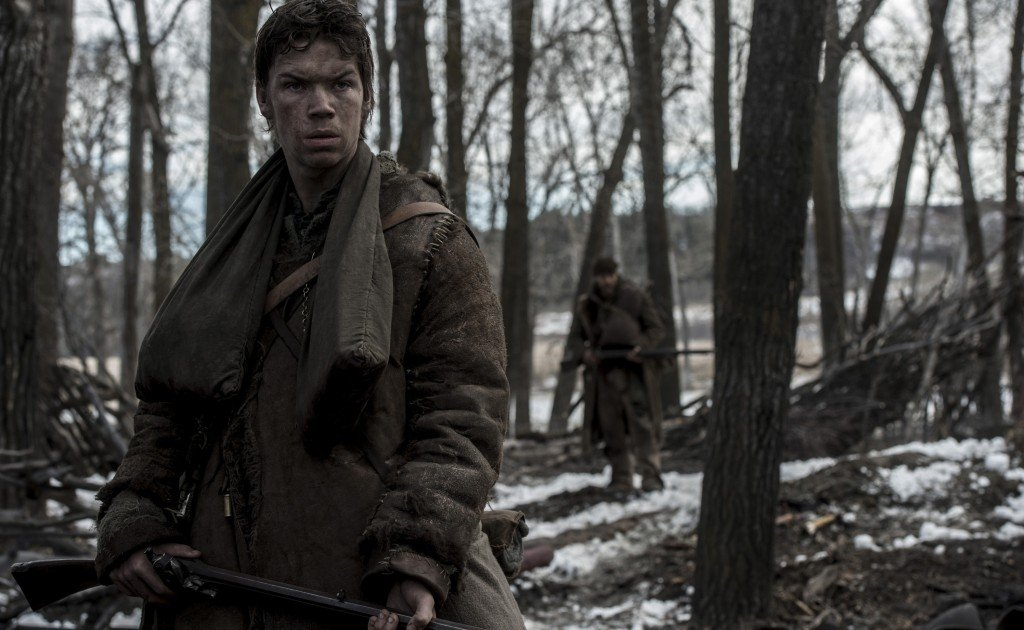 Will Poulter portrays legendary mountain man Jim Bridger in the REVENANT. Copyright © 2015 Twentieth Century Fox Film Corporation. All rights reserved. THE REVENANT Motion Picture Copyright © 2015 Regency Entertainment (USA), Inc. and Monarchy Enterprises S.a.r.l. All rights reserved.Not for sale or duplication.